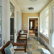 Traditional Hall by Steinberg Custom Designs