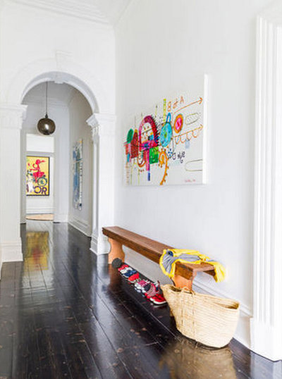 Contemporary Hall By Studio Stamp