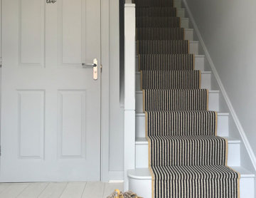 Family home: hall, stairs & landing