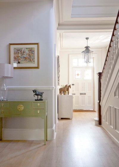 Traditional Hall by Fiona Andrews Interiors