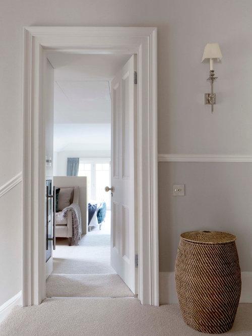 dado rail hallway and landing design ideas renovations. Black Bedroom Furniture Sets. Home Design Ideas
