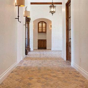 Farm House in LA using Arabesque tile