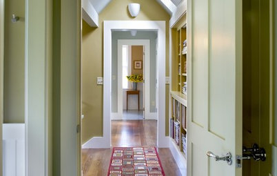 Use Trim to Modernize a Traditional Home — or Vice Versa