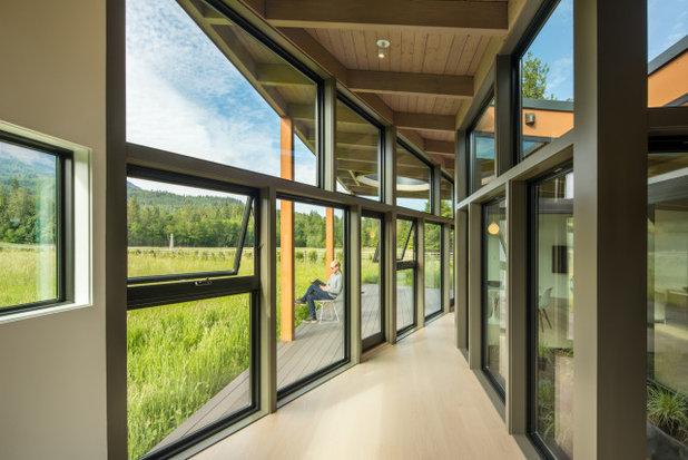 Ретро Коридор by David Coleman / Architecture