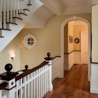 Idées déco pour un couloir craftsman.