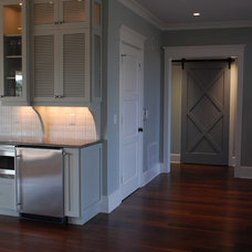 Traditional Hall by Amy Tyndall Design