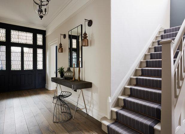 Industrial Hallway & Landing by Cherie Lee Interiors