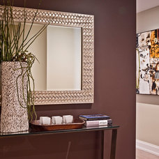 Contemporary Hall by Andrea Braund Home Staging & Design