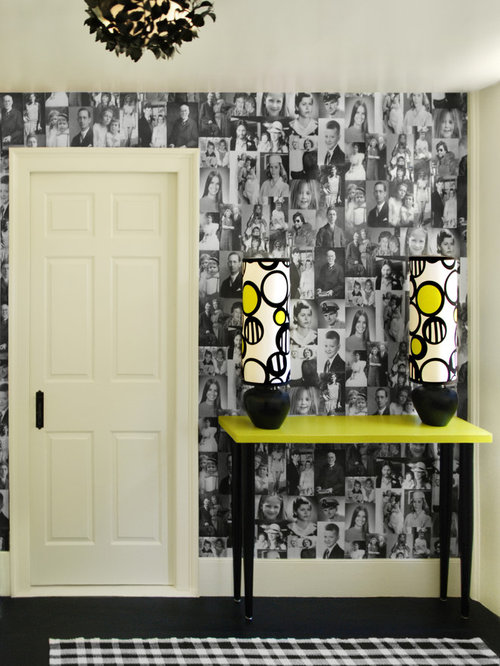 Black And Yellow Home Design Ideas Renovations Photos