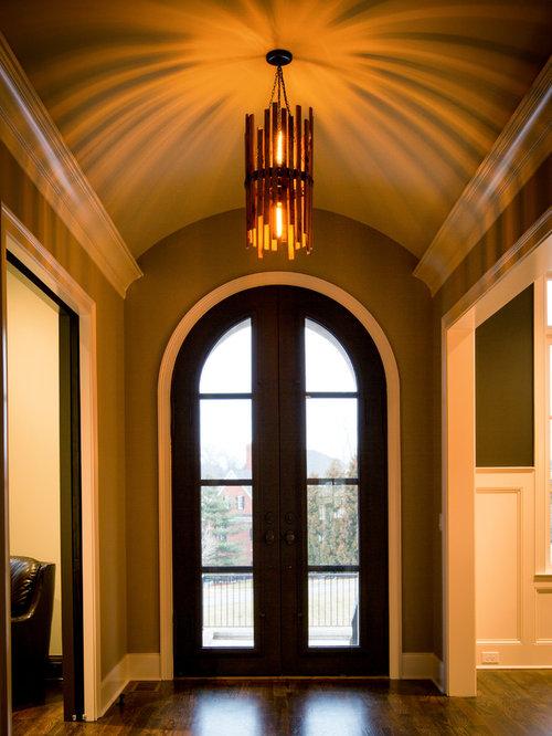 Foyer Chandelier Juice : Foyer light for barrel roll ceiling