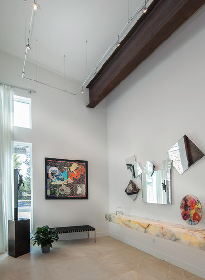 Contemporary Hall by Jaffa Group Design Build