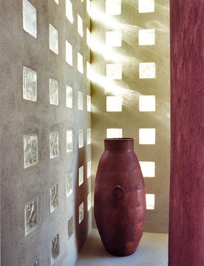 Pav s ladrillos de vidrio en paredes exteriores para tu casa for Decoracion con paves
