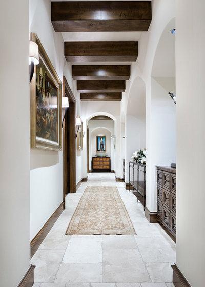 地中海 廊下 by JAUREGUI Architecture Interiors Construction