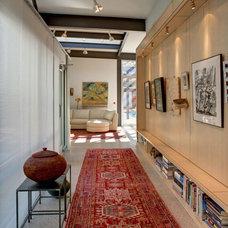 Modern Hall Frick Residence