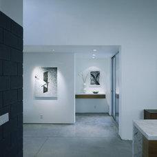 Modern Hall by OJMR-Architects, Inc.