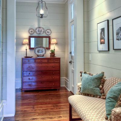 Example of a cottage hallway design in Atlanta