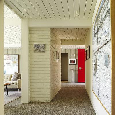 Midcentury Hall by Gary Hutton Design