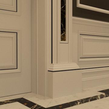Genius Collection - Door Pilaster Plinth