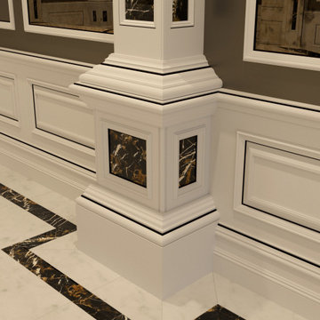 Genius Collection - Half Column Sill and Base