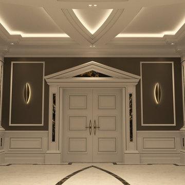 Genius Collection - Hallway Door with Pediment