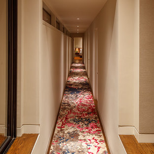 Photo of a midcentury hallway in San Francisco.