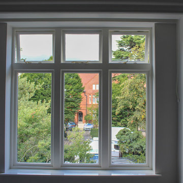 Georgian Home in Dublin - windows and french doors
