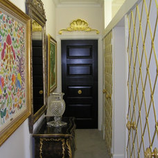 Eclectic Hall by G&G Painting, Restoration & Fine Cabinetry