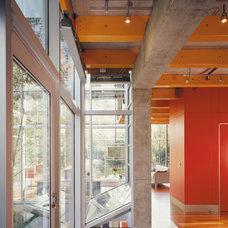 Industrial Hall by Thomas Roszak Architecture, LLC