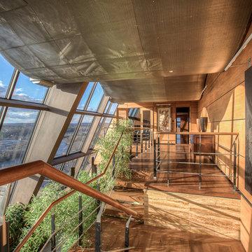 Glass Penthouse Aparment