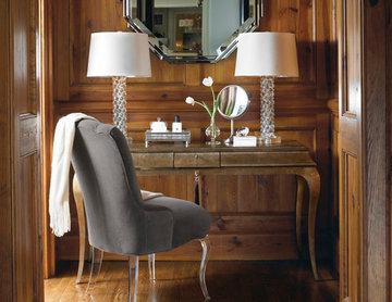 Glass Slipper Chair
