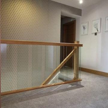 Glittering Glass Stairs Refurbishment