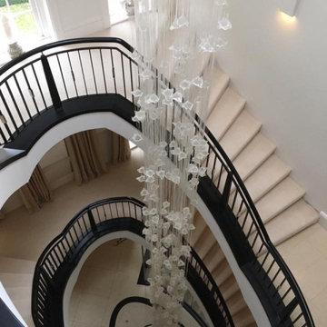 Golders green big chandelier