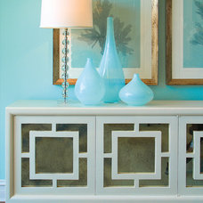 Contemporary Hall by Grace Home Furnishings