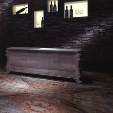 Contemporary Hall by TorontoGranite.com