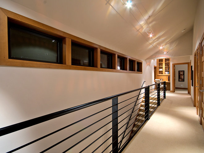 Contemporary Hall by Hupp Building Group