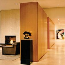 Modern Hall Grunsfeld Shafer Architects › Highland Park Residence