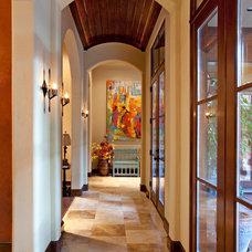 Southwestern Hall by Eklektik Interiors