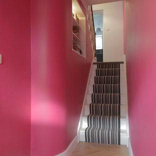 Idée de décoration pour un couloir.