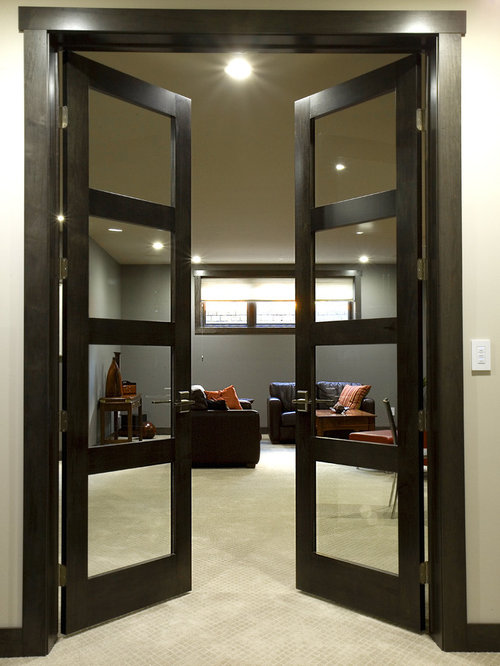 Modern french doors home design ideas pictures remodel for Modern french balcony