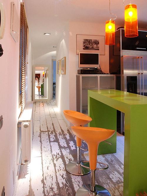Painted Wood Floor Houzz