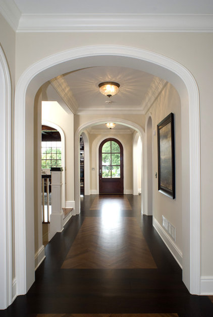 Traditional Hall by Carl M. Hansen Companies