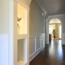 Contemporary Hall by Mandy Brown