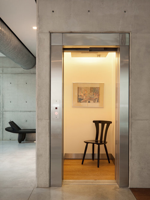 Home elevator houzz for Elevator house