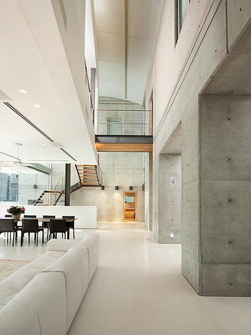 Concrete Walls Houzz