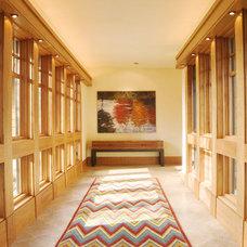 Rustic Hall by Karlene Hunter Baum, Allied ASID