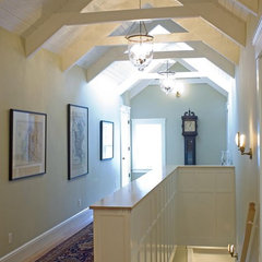 traditional hall by McCoppin Studios