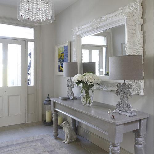 Shabby-Chic Style Hallway And Landing Design Ideas