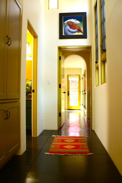 contemporary hall by Shannon Malone