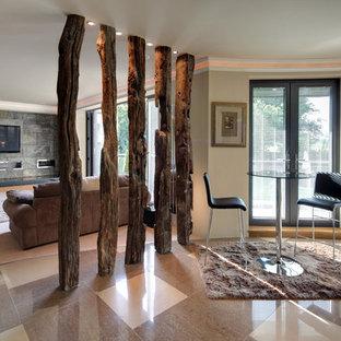 Неиссякаемый источник вдохновения для домашнего уюта: коридор в стиле рустика
