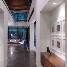 Modern Hall by My House Design Build Team